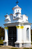 Small religious building at Saint Nicholas Church Stock Photo