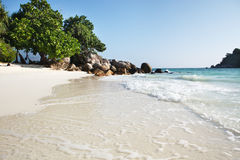 Small remote beach Stock Photography