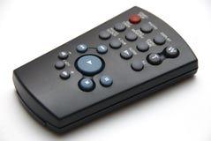 Small Remote Control. Small Video Camera Remote Control isolated on white Stock Photo