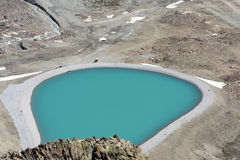 Small Reservoir Lake, Austria Royalty Free Stock Photography