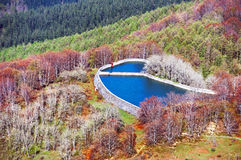 Small reservoir Royalty Free Stock Images