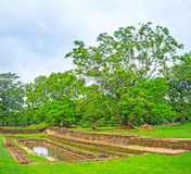 The small reservoir in Sigiriya Royalty Free Stock Photos
