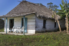 Small residential home on Cuba Stock Photos