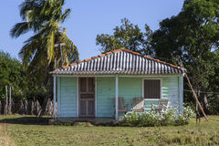 Small residential home on Cuba Stock Photography