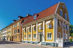 Small residential houses Stock Photo