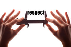Small respect Stock Photography