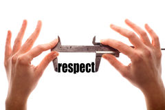 Small respect Royalty Free Stock Image