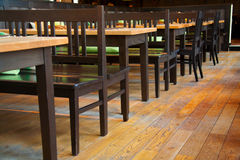 Small restaurant interiour Royalty Free Stock Photography