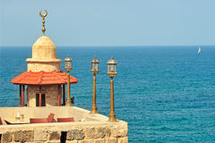 Old mosque. Yafo, Israel. Stock Photo