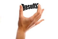 Small results Stock Image