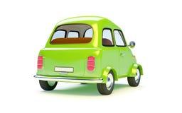 Small retro car back Stock Photo