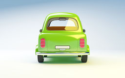 Small retro car back Stock Images