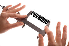 Small revenues Royalty Free Stock Photo