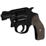 Small revolver vector illustration