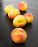 Small ripe apricots Stock Photography