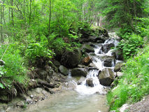 Small river. In tirol, austria Royalty Free Stock Photography