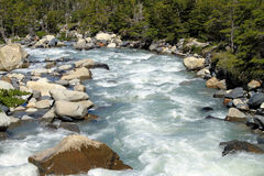 Patagonia River Royalty Free Stock Photography