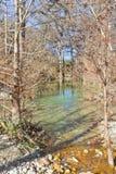 Small river at Hamilton Pool Stock Photos