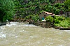 Small river in the hinterland of Armenia. Armenia Stock Photos