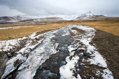 Small river in Iceland Stock Photo