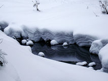 Free Small River In Winter, Russia Stock Photos - 36416893