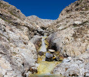 A small river in the mountains Royalty Free Stock Images