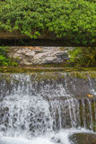 Small river park waterfall cascade Royalty Free Stock Image