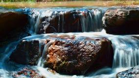 Small river rock falls Royalty Free Stock Image