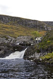 Small river in scottish highlands Royalty Free Stock Photos