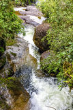 Small river and waterfall Royalty Free Stock Photography