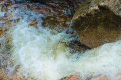 Small rivers through the valley Stock Photography