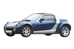 Small roadster Royalty Free Stock Photos