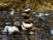 Small Rock Stack Stock Photography