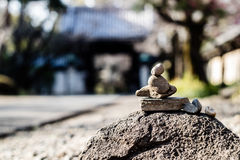 A Small Rock Tower Royalty Free Stock Photography