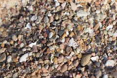 The small rocks on the beach. The beautiful small rocks on the beach, Summer holiday. background Royalty Free Stock Photo