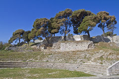Small Roman amphitheater Royalty Free Stock Photography