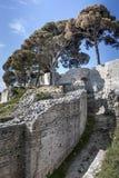 Small Roman amphitheater Stock Image