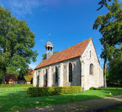 Small roman church Stock Image