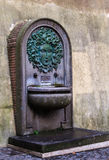 Small Roman fountain Stock Images