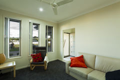 Small room and entrance. Small rooma and entrance in Australian townhouse Stock Images