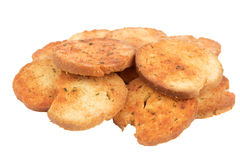Small round mini bake rolls Stock Images