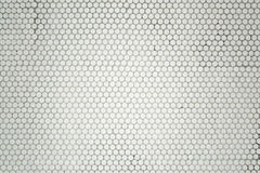 Small round mosaic tiles Stock Photography