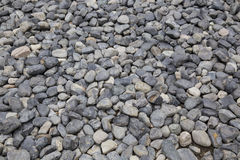 Small round rock, zen garden Royalty Free Stock Photo