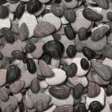 Small rounded stones Stock Photo