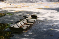 Small row boat Royalty Free Stock Images