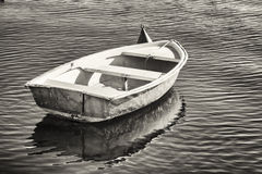 Small row boat Stock Image