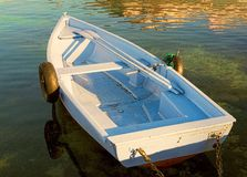 Small rowing boat Stock Image