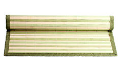 Small rug bamboo Royalty Free Stock Images