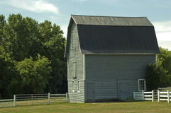 Small rural barn Royalty Free Stock Image