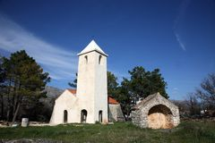 Small rural church Stock Photography